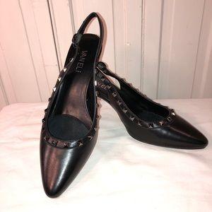 Vaneli Sz 7.5 black kitten heel